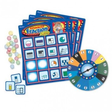 Advanced Fraction Zone Bingo Ages 7+