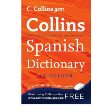 Collins Gem Spanish Dictionary in colour