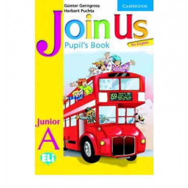 Join Us for English Junior A Pupil's Book
