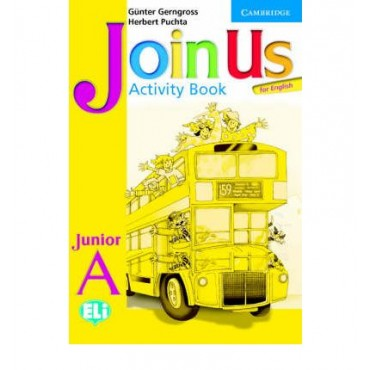 Join Us for English Junior A Activity Book