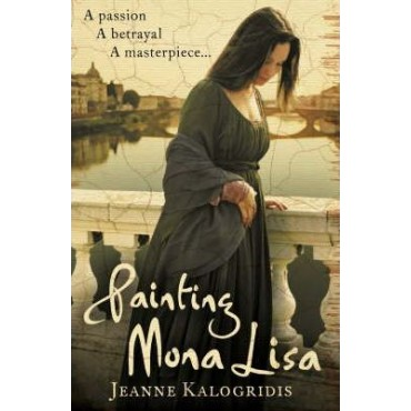 Painting Mona Lisa      {USED}