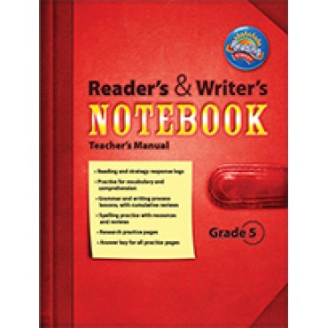 Reading Street Readers And Writers Notebook Grade 5