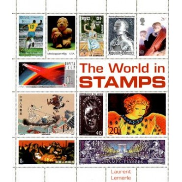 The World in Stamps  (Hardback)